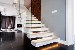 ST34 Withe Floating Stairs (1)