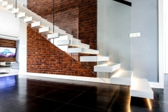 ST34 Withe Floating Stairs (4)